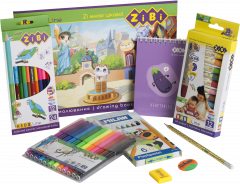 Набор для рисования карандашами ZiBi Light (ZB.9955)