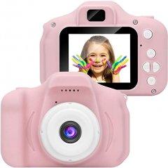 Цифровой детский фотоаппарат XoKo KVR-001 Розовый (KVR-001-PN) (9869201146747)