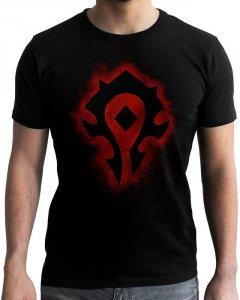 Футболка ABYstyle World of Warcraft Horde XS Черная (ABYTEX441XS)