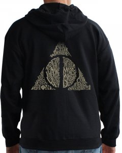 Толстовка ABYstyle Harry Potter XL Черная (ABYSWE051XL)