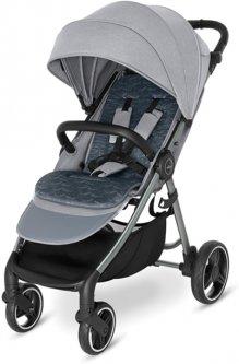 Прогулочная коляска Baby Design Wave 107 Silver Gray (204111)
