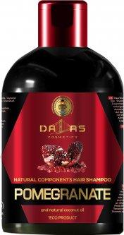 Шампунь Dalas Natural component с маслом гранатовых косточек и натуральным кокосовым маслом 1000 мл (4260637729194)