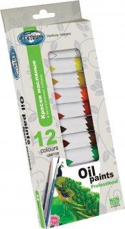 Краски масляные в металлической тубе Centrum 12 цветов 12 мл (4030969835531)