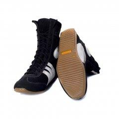 Боксерки довгі, взуття для боксу KROK SP13, 46 розмір, чорні, 13.46