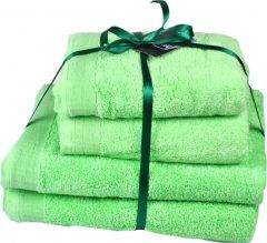 Набор махровых полотенец SoundSleep Elation Mint мятный 50х100 - 2 шт, 70х140 - 2 шт (93392723)