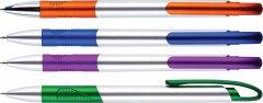 Набор шариковых ручек Centrum Sunrise Синих 1 мм корпус ассорти 4 шт (2000998450076)