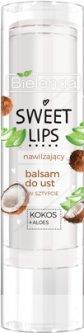 Бальзам для губ Bielenda Sweet Lips Увлажняющий кокос + Алоэ 5 г (5902169045920)