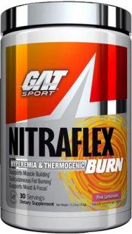 Предтренировочный комплекс GAT sport Nitraflex Burn 318 г Розовый лимонад (816170022298)