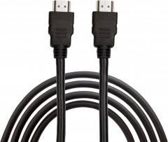 Кабель CHARMOUNT 10010 HDMI — HDMI 1 м Черный (10010)