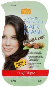 Маска для волос Purederm Botanical Choice Shiny&Hydrating Hair Mask Jojoba Oil Масло Жожоба 20 мл (8809052586737)