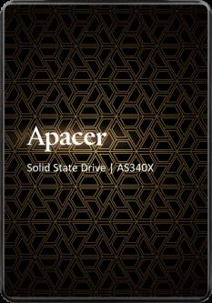 "Apacer AS340X 120GB 2.5"" SATAIII 3D NAND (AP120GAS340XC-1)"