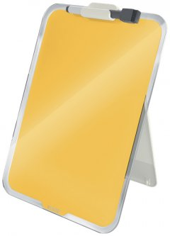Флипчарт стеклянный настольный Leitz Cosy 216х297 мм желтый (3947-00-19)