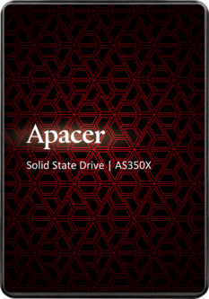 """Apacer AS350X 256GB 2.5"""" SATAIII 3D NAND (AP256GAS350XR-1)"""