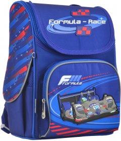 Рюкзак школьный каркасный 1 Вересня H-11 Formula-race 33.5x26x13.5 Мужской (555142)