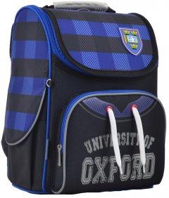 Рюкзак школьный каркасный 1 Вересня H-11 Oxford 33.5x26x13.5 Мужской (555130)