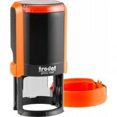 Оснастка для круглой печати Trodat Printy 4642 диаметр 42 мм с колпачком Цвет корпуса Неон оранжевый (4642 NEW нПом)