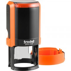 Оснастка для круглой печати Trodat Printy 4642 диаметр 42 мм с колпачком Цвет корпуса Оранжевый (4642 NEW пома)