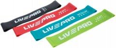 Набор эспандеров петель 4 шт LivePro Resistance Loops Bands (LP8412)