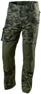 Рабочие брюки Neo Tools CAMO M Оливковые (81-221-M)