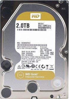 """Жесткий диск Western Digital Gold 2TB 7200rpm 128MB WD2005FBYZ 3.5"""" SATA III"""