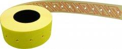 Этикет лента Printex 21 х 12 мм 1000 этикеток прямоугольная 50 шт Лимонная (5849)