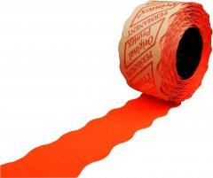 Этикет лента Printex 26 х 12 мм 1000 этикеток фигурная 36 шт Красная (14750)