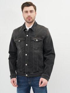 Джинсовая куртка Calvin Klein Jeans Foundation Jacket J30J317247-1BY XL Denim Black (8719853601433)