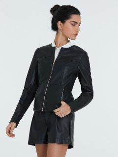 Куртка зі штучної шкіри Piazza Italia 56644-3 L Black (2056644001055)