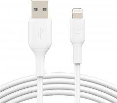Кабель Belkin USB-A - Lightning PVC 3 м White (CAA001BT3MWH)