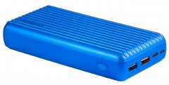 УМБ Promate Titan-30 30000 mAh 30Вт Type-C PD 18Вт USB QC3.0 USB 2.4А Blue (titan-30.blue)