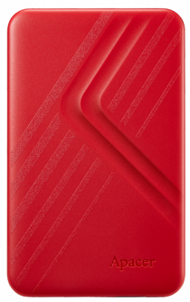 "Жесткий диск Apacer AC236 2TB 5400rpm 8MB AP2TBAC236R-1 2.5"" USB 3.1 External Red"