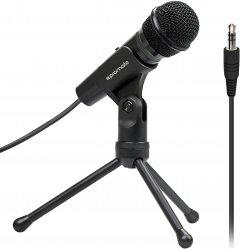 Микрофон Promate Tweeter-9 Mini-jack 3.5 мм Black (tweeter-9.black)