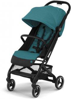 Прогулочная коляска Cybex Beezy River Blue/Turquoise с бампером (521000619)