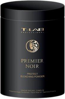 Пудра T-LAB Professional Premier Noir Bleaching Powder для защиты и осветления волос 500 мл (5060466661806)