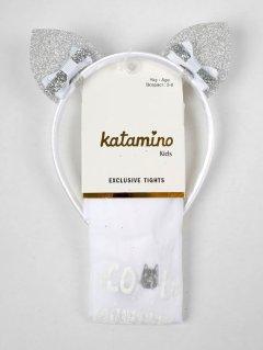 Колготки Katamino K60098 93-105 см White (8680652443831)