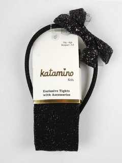 Колготки Katamino K62087 132-144 см Black (8680652445583)