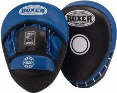 Лапы боксерские Boxer 0.8 мм Черно-синие (2013-01B)