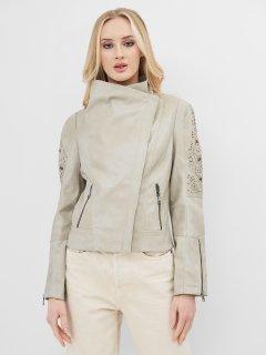 Куртка из искусственной замши Desigual 71E2GD4/1001 36 Серая (8434486064393)