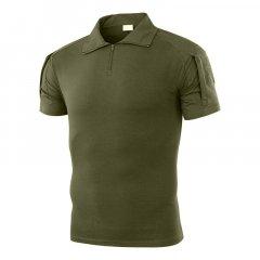 Тактична футболка з коротким рукавом Lesko A416 Green M чоловіча армійська