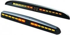 Парковочный радар для заднего и переднего бампера Steelmate PTS810MM Silver