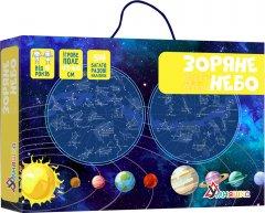Игра с многоразовыми наклейками Умняшка Карта звездного неба (укр) (КП-007) (4820129201333)