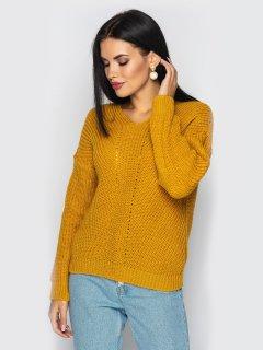 Пуловер Larionoff Paris 42-46 Горчичный (Lari2000005347269)