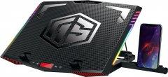 Охлаждающая подставка для ноутбука 2E Gaming 2E-CPG-005 Black (2E-CPG-005)