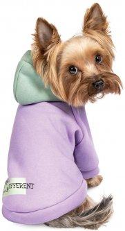 "Толстовка Pet Fashion ""BE DIFFERENT"" для собак размер S2, Двухцветная (4823082420421)"