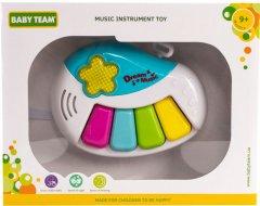 Игрушка для малышей Baby Team Музыкальный инструмент Пианино (8625_пианино) (4824428086257)
