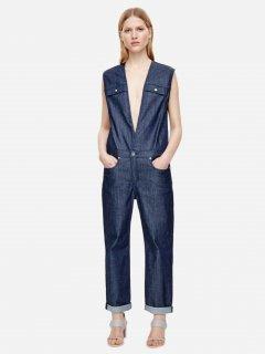 Полукомбинезон джинсовый COS 0289668-2 36 Синий (CA2000001529621)
