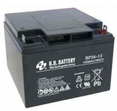 Аккумуляторная батарея B.B. Battery 12V-26Ah (BP26-12)