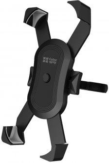 Велодержатель для телефона СolorWay Black (CW-BH10-BK)