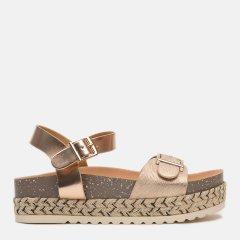 Босоножки XTI Metallic Ladies Sandals 49111-2463 37 Светло-розовые (8434739303750)