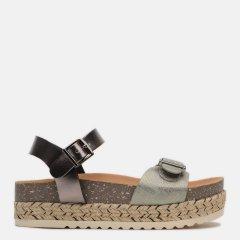 Босоножки XTI Metallic Ladies Sandals 49111-2201 40 Темно-серые (8434739451321)